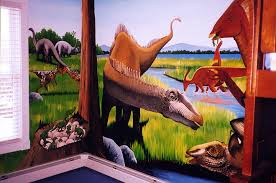 Dinosaur Mural By The Art Of Life