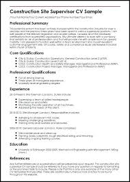 Construction Resume Sample Sufficient Rh Districte15 Info Site Safety Manager Regional Professional