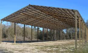 How To Pole Building Construction by Pole Barn Kits By Dixieland Metals A Great Construction