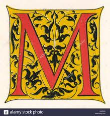 The Illuminated Letter M