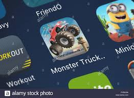 100 Play Monster Truck Games London United Kingdom October 26 2018 Closeup Of The