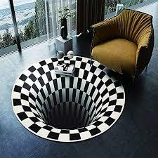 teppich rund schwarz weiß bester kauf