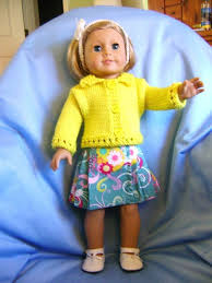 Doll Clothes HANDMADE Skirt Sweater Set Fits American Girl Dolls