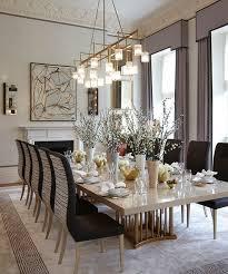Large Modern Dining Room Light Fixtures by Best 25 Rectangular Dining Room Light Ideas On Pinterest Dining