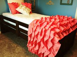 Coral Colored Bedding by Cute Salmon Colored Bedding U2014 Decor Trends How To Decorating