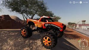 100 El Toro Monster Truck Loco Truck V10 FS19 Farming Simulator 19 Mod