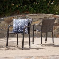 Dylan Outdoor Wicker Armed Aluminum Framed Stack Chairs (Set Of 2) Gdf Studio Dorside Outdoor Wicker Armless Stack Chairs With Alinum Frame Dover Armed Stacking With Set Of 4 Palm Harbor Stackable White All Weather Patio Chair Bay Island Noble House Multibrown Ding 2pack Plowhearth Bistro Two 30 Arm Brown 51 Bfm Seating Ms11cbbbl Gray Rattan Inoutdoor Restaurant Of Red By Crosley Fniture