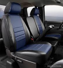 100 Custom Seat Covers For Trucks LeatherLite Cover Fia SL6735BLUE Titan Truck