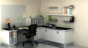 Home Office Wall Shelving Ideas White Ikea With Desk And Black Chair Best Decorating Bookcase