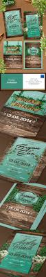 Rustic Invitation Photoshop PSD Engagement Date O Available Here