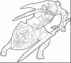 Outstanding Majoras Mask Coloring Pages With Legend Of Zelda And The