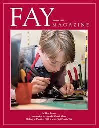Fay Magazine Summer 2017 By School