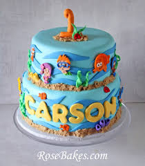 Bubble Guppies Cake Decorating Kit by Bubble Guppies Birthday U0026 Smash Cake Bubble Guppies Birthday