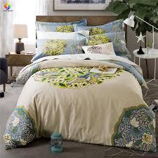 Home Bedding Big Beautiful Flower Bedding Set King Duvet Cover Bed