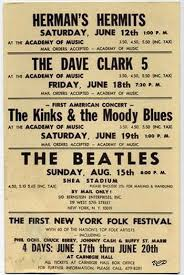 Perhaps The Most Famous Concert Of All Time This Is Only Type Poster That Known For Beatles In 1965 Their Appearance At Shea