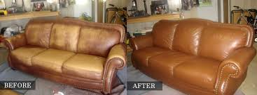 spectacular leather furniture restoration with additional home