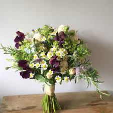Rustic Hand Tied Bridal Bouquet For Clock Barn Bridesmaid Flowers Created By Eden Blooms Florist