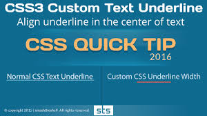 Text Decoration Underline Style by How To Create Custom Css Underline Less Than Width Of Headline