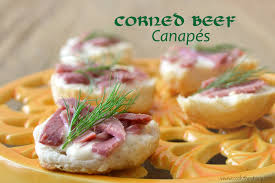 beef canape recipes healthy corned beef canapes around my family table
