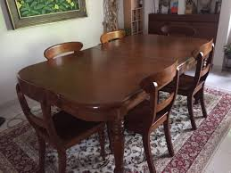 Gorgeous Teak Dining Table With 6 Matching Chairs, Furniture, Tables ... Danish Mondern Johannes Norgaard Teak Ding Chairs With Bold Tables And Singapore Sets Originals Table 4 Uldum Feb 17 2019 1960s 6 By Greaves Thomas Mcm Teak Table Niels Moller Chairs Etsy Mid Century By G Plan Round Ding Real 8 Seater Jamaica Set Temple Webster Nisha Fniture Sheesham Wooden Balcony Vintage Of 244003 Vidaxl Nine Piece Massive Chair On Retro