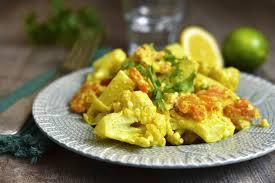 cuisiner le choux fleur recette chou fleur en vinaigrette au curry
