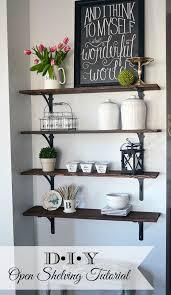best 25 kitchen wall shelves ideas on pinterest open shelving