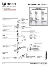 Moen Kitchen Faucet Repair Diagram Moen 146789 Replacement Part Faucet Parts Faucet O Rings