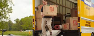 100 Renting A Truck From Home Depot Man Carrying A Moving Box From The Out Of A Penske Rental