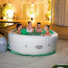 Portable Bathtub For Adults Canada by Intex Pure Spa 4 Person Inflatable Portable Heated Jet Massage