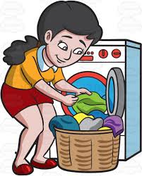 Uses Of Water For Washing Clothes Clipart