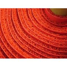 3a Thick Plastic Carpet Wire Welcome Mat Red