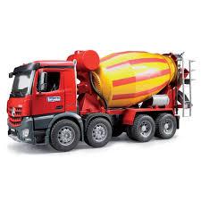 100 Bruder Cement Truck MB Arocs Cement Mixer Truck Farming Toys