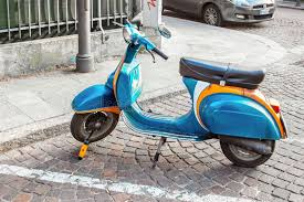 Download Old Vespa Scooter Editorial Image Of Italian Cute