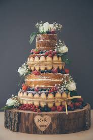 Six Naked Wedding Cake Ideas Plain CakesRustic