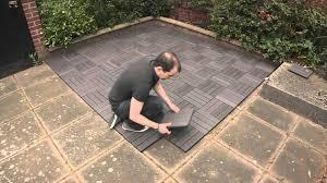 wood deck tiles lowes proper installation of wood deck tiles