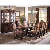 Neo Renaissance Formal Dining Room Set 108 Table Upholstered Chairs