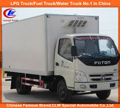 China 4*2 Foton Mini Fruits Transportation Refrigerator Van Truck ...