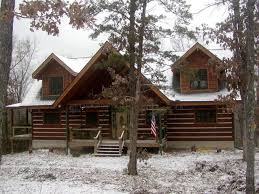 Park Appalachian Log Timber Homes Standard Model Rustic Style