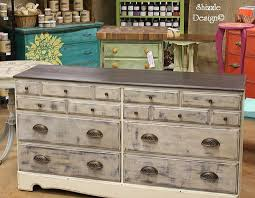 Industrial Chic Dresser Shizzle Design Hand Painted Furniture Chalk Clay Paint Ideas Color Inspiration Holland