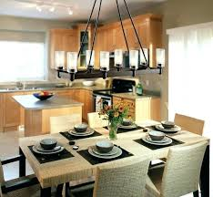 Black Dining Room Chandelier Chandeliers Contemporary For Good Bronze Rectangular Light Set