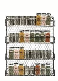 4 Tier Black Country Rustic Chicken Wire Pantry Cabinet or Wall