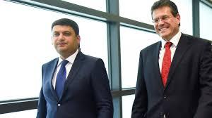 100 Sefcovic Embarks On Third Trilateral Gas Talks On Ukraine EURACTIVcom