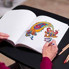 Colorama Coloring Books With Pencils