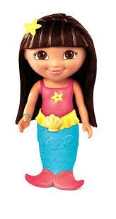 amazon com fisher price undersea mermaid dora the explorer toys