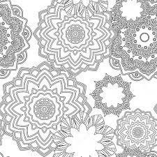 Mandala Fleur Tropicale Vecteur élément Isolé Image Vectorielle