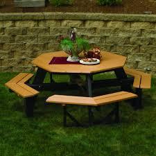 berlin gardens octagon picnic table bars benches picnic