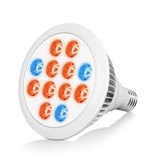 ec technology 24w miracle led grow light bulb with 12 led lights