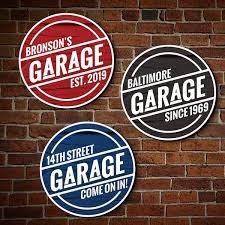 Garage Signs Man Cave Owner