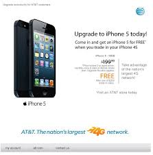AT&T supposedly offering iPhone 5 for free with iPhone 4S trade in