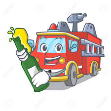 With Beer Fire Truck Mascot Cartoon Royalty Free Cliparts, Vectors ... Fire Man With A Truck In The City Firefighter Profession Police Fire Truck Character Cartoon Royalty Free Vector Cartoon Coloring Page Vehicle Pages 6 Cute Toy Cliparts Vectors Pictures Download Clip Art Appmink Build A Trucks Cartoons For Kids Youtube Grunge Background Stock Illustration Pixel Design Stylized And Magician Mascot King Of 2019 Thanksgiving 15 Color For
